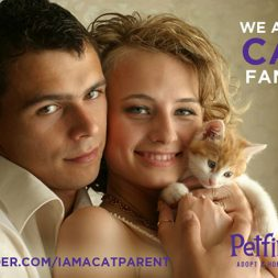 family with a cat
