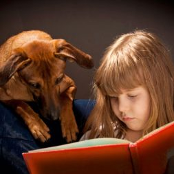 Shelter pets help kids read